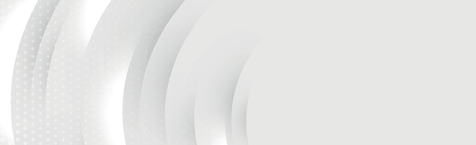 abstracte grijze achtergrond met golvende lijnen - vector