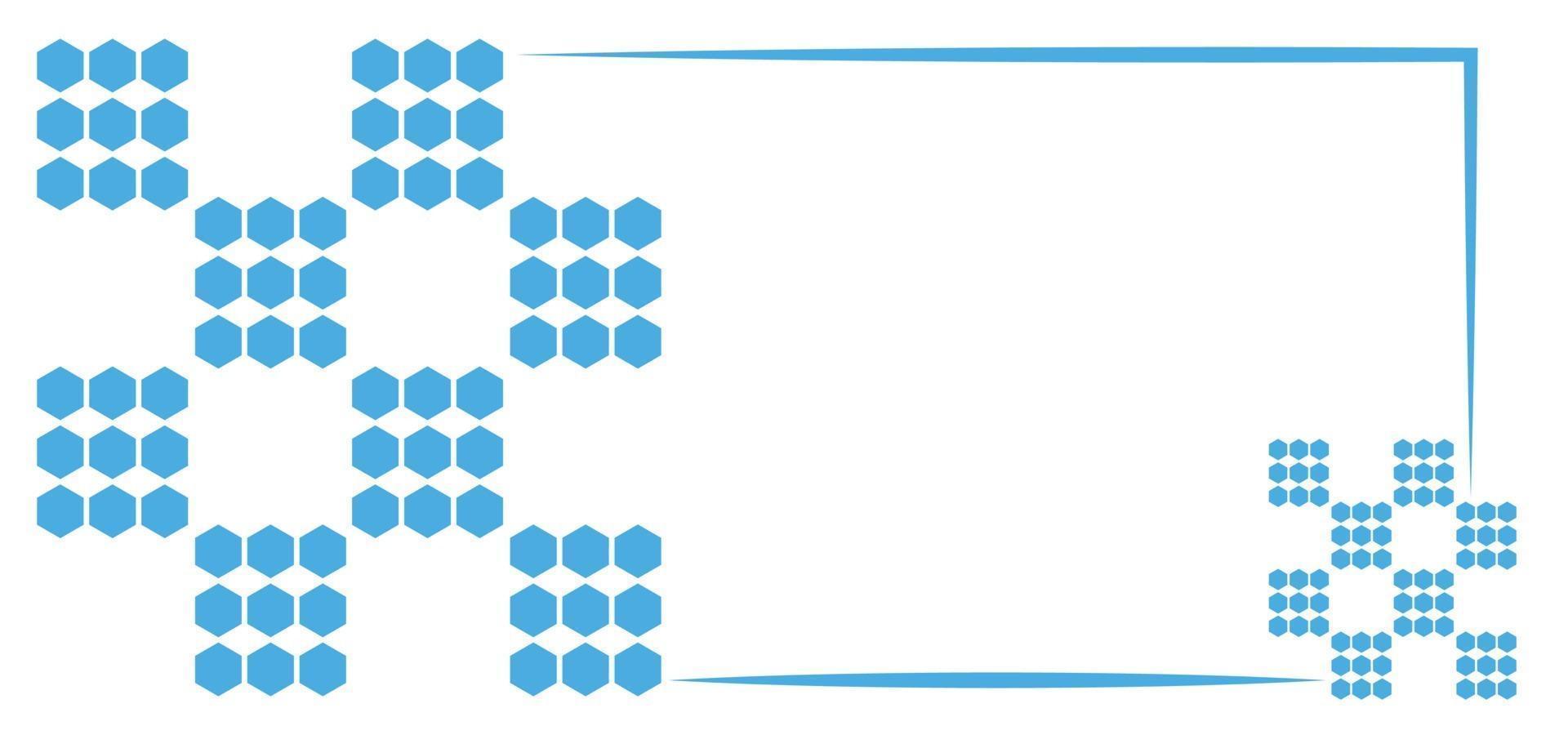 blauwe stippen eenvoudige achtergrond of banner vector