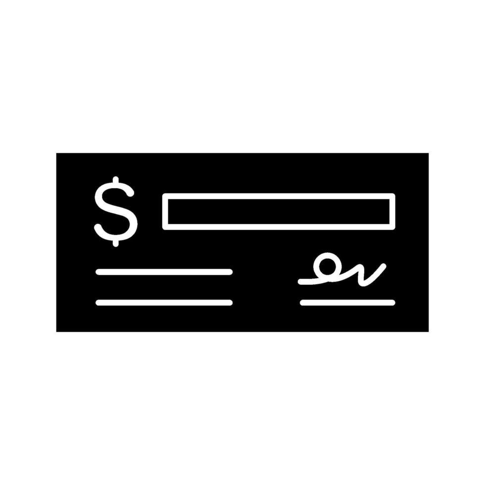 controleer vector pictogram