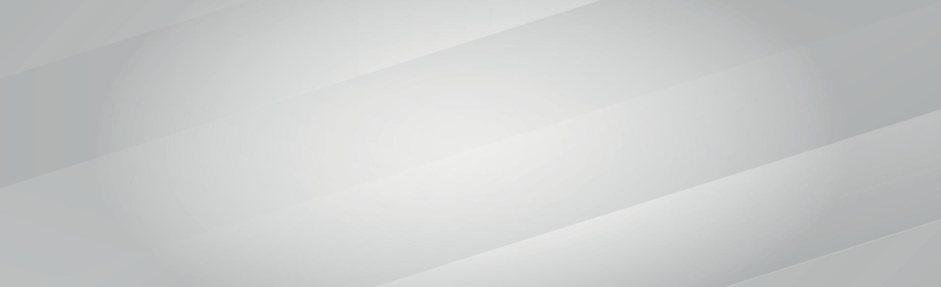 witte vector panoramische achtergrond met golvende lijnen