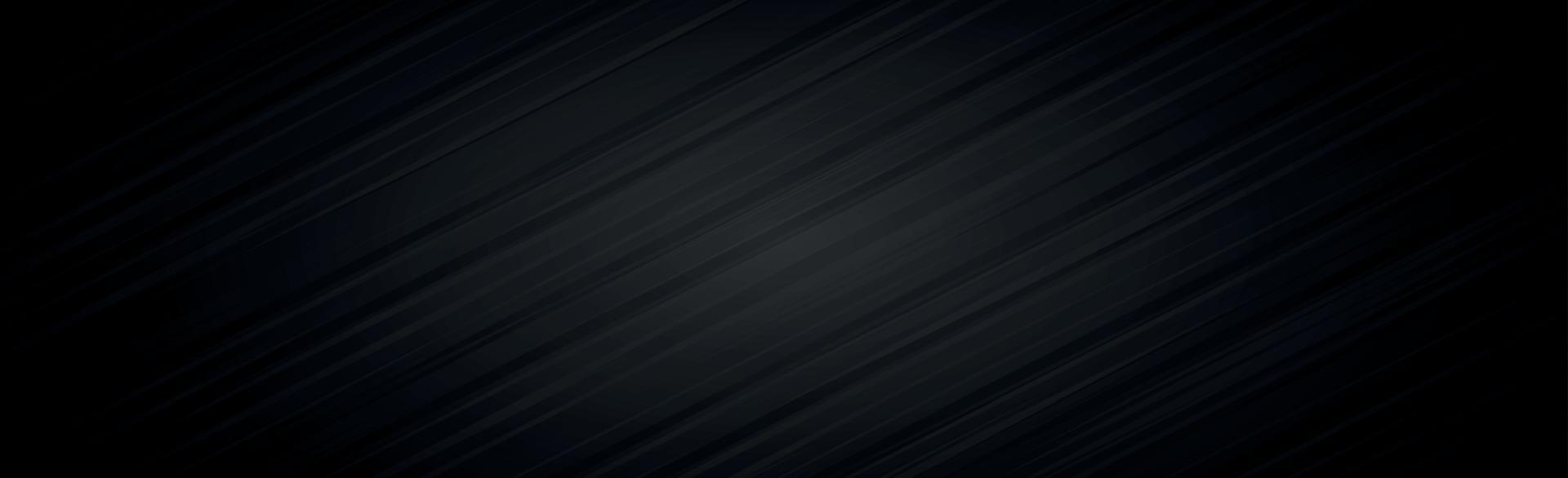 abstracte donkere zwarte getextureerde panoramische achtergrond - vector