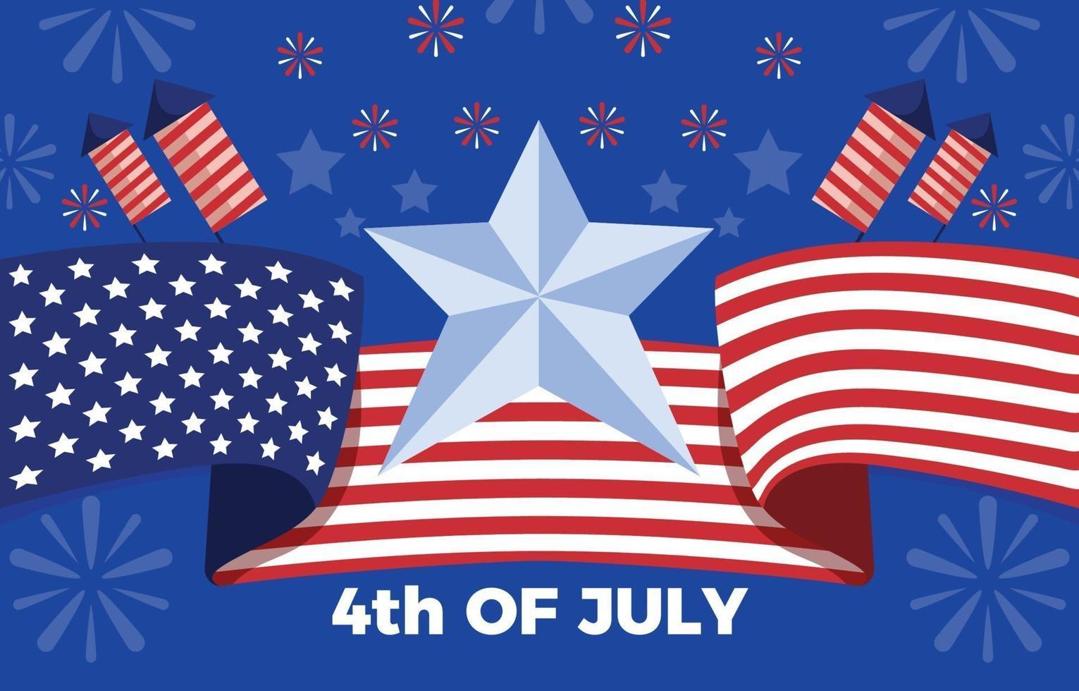 de meest verwachte viering van de onafhankelijkheidsdag vector
