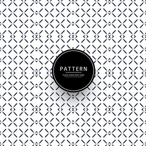 Moderne geometrische patroon elegante achtergrond vector