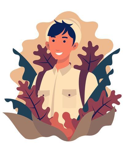 Jungle Explorers Illustratie vector