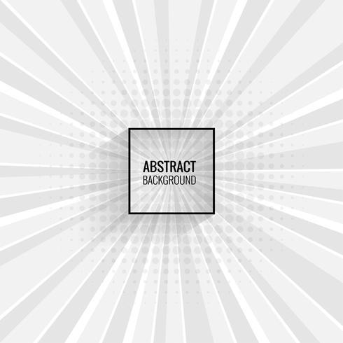 Abstracte grijze lijnenachtergrond met stralenvector vector