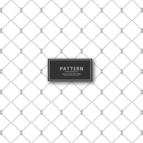 Prachtige geometrische patroon vector