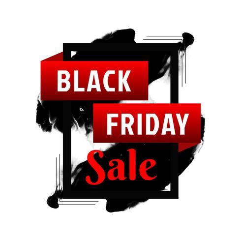 Abstracte zwarte vrijdag verkoop achtergrond vector
