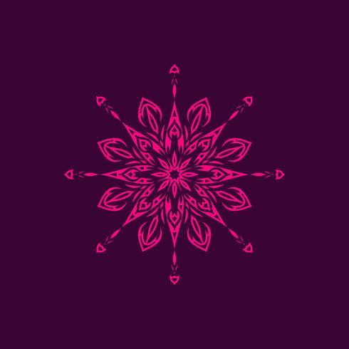 Abstracte mooie mandala stijlvolle ontwerp achtergrond vector