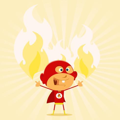 Super Kid Powers! vector