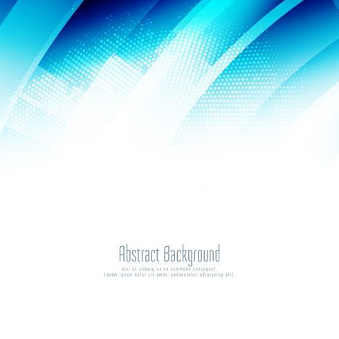 Abstracte blauwe stijlvolle geometrische achtergrond vector