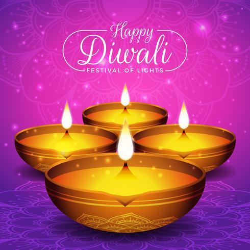 Diwali-festivalvlieger en afficheachtergrond vector