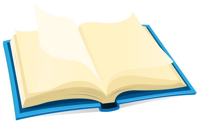Open boekpictogram vector