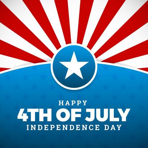 Onafhankelijkheidsdag ontwerp vector
