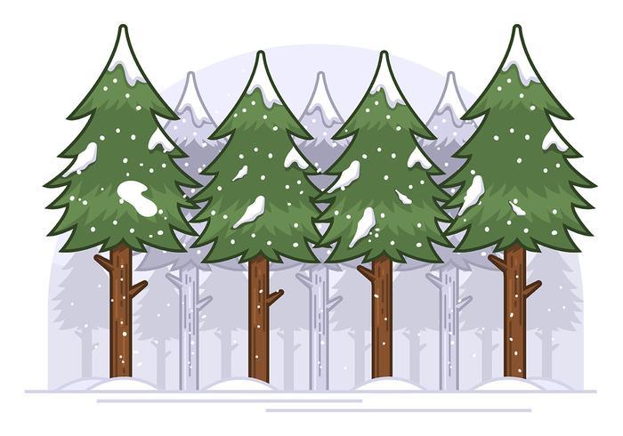 Winterbos vector