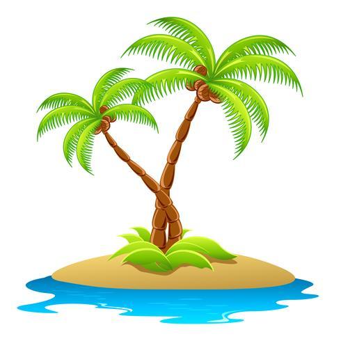 Palmboom vector