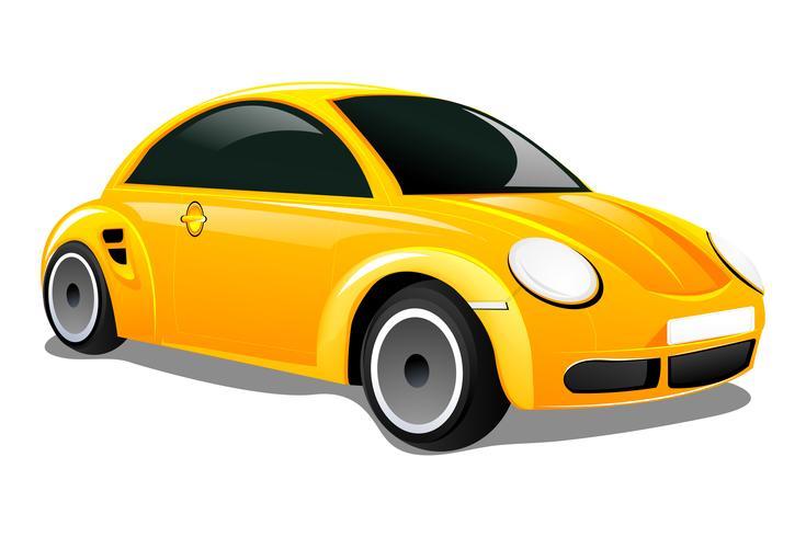 Sportwagen vector