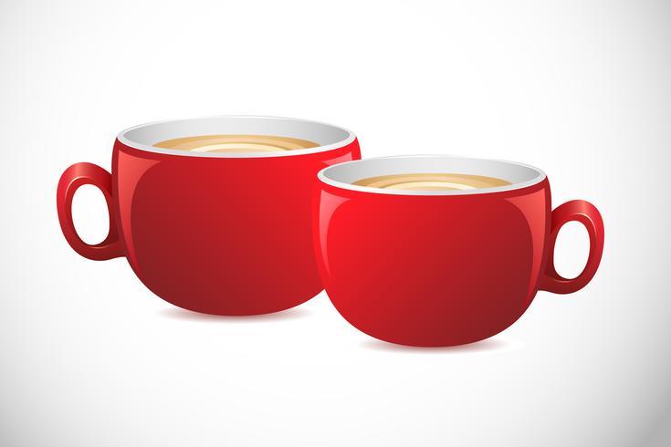 Koffiekop vector