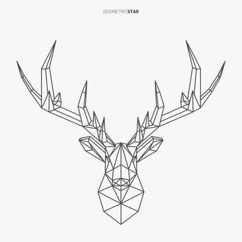 Geometrische hert vector