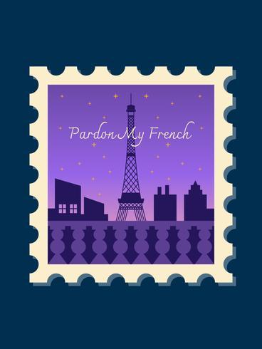 Unieke Parijs vectoren