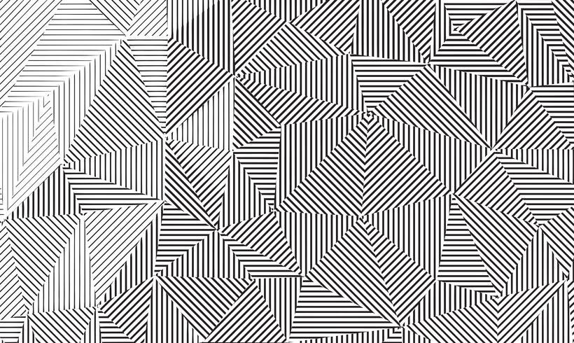 Geometrische lineaire achtergrondstructuur. vector