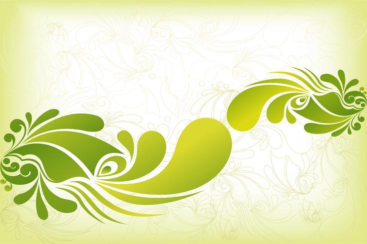 Kleurrijke bloemenachtergrond vector