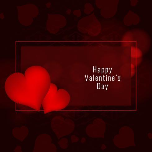 De Dag mooie achtergrond van abstracte Gelukkige Valentijnskaart vector