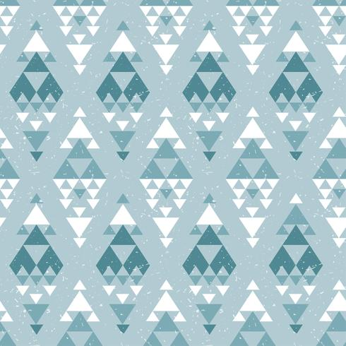 Azteekse abstracte geometrische kunstdruk. vector