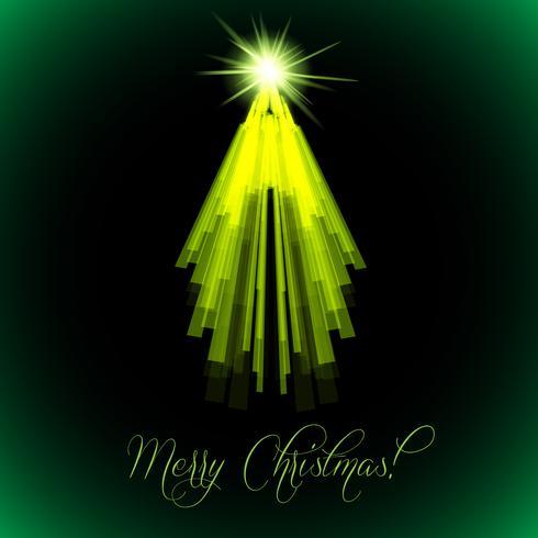 Merry Christmas vector sjabloon boom