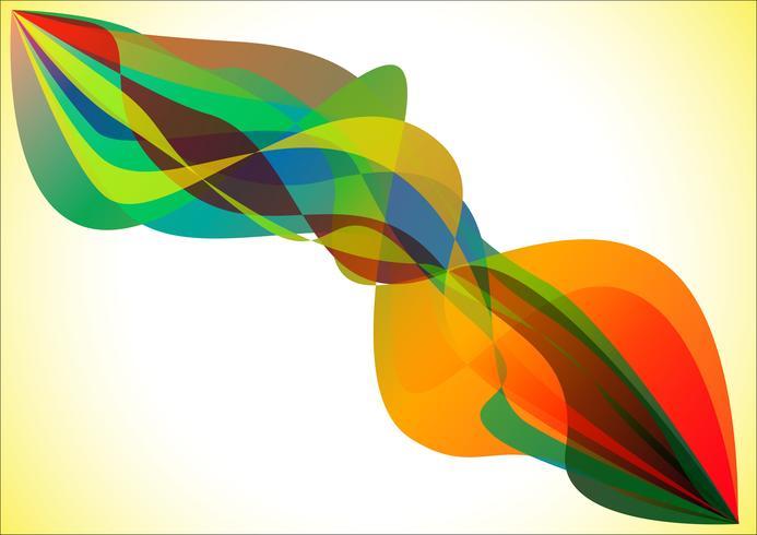 Kleurrijke vlam vector