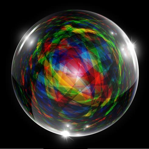 Abstract vector zeepbel
