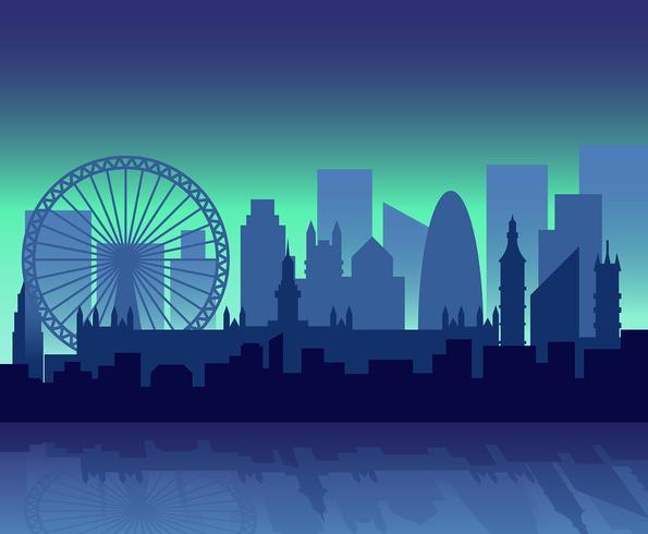 Londen illustratie vector
