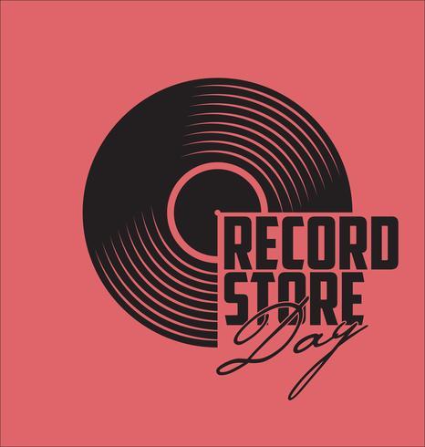 vinylplaat vector
