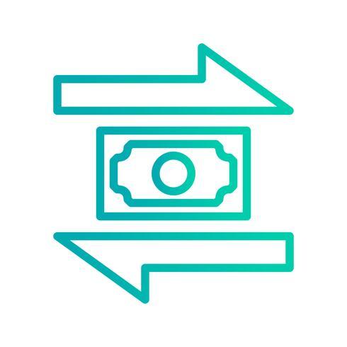 Vector transactiepictogram