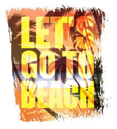 Vectorillustratie met de slogan voor t-shirts vector