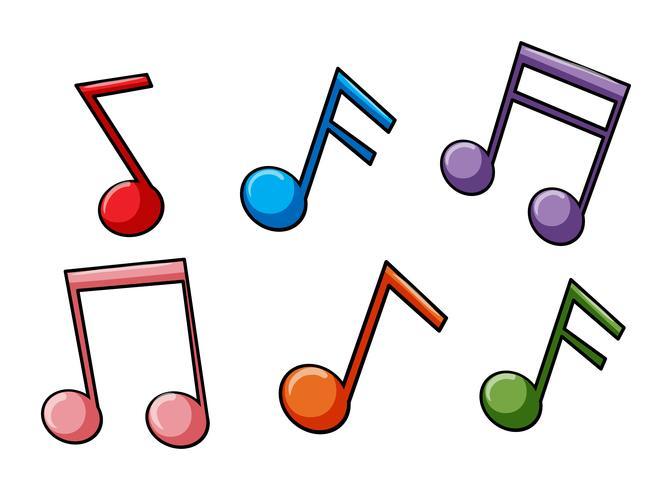 Kijk naar de muziekidioom vector