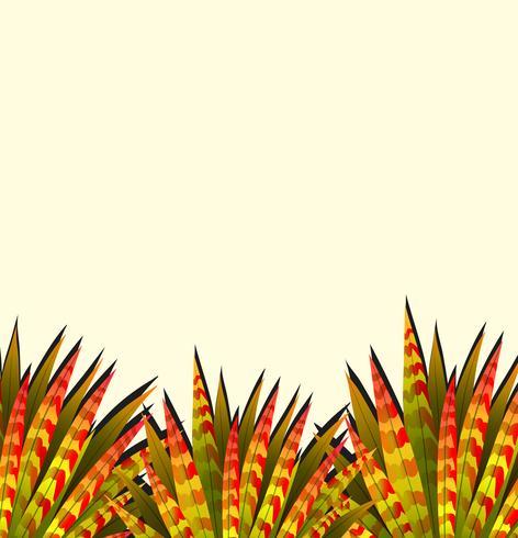 Aardthema met kleurrijke bladeren vector