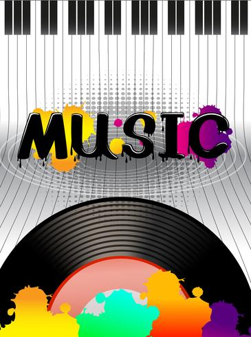 Muziek vector