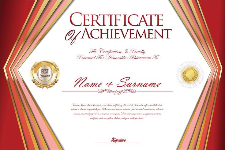 Certificaat vector