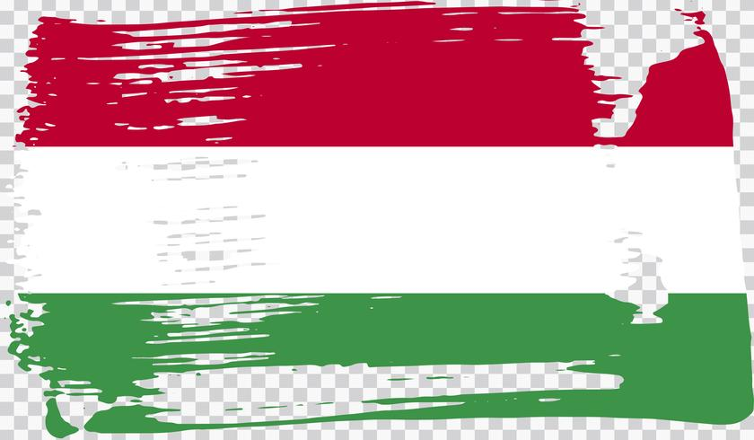Realistische vlag, vectorillustratie vector