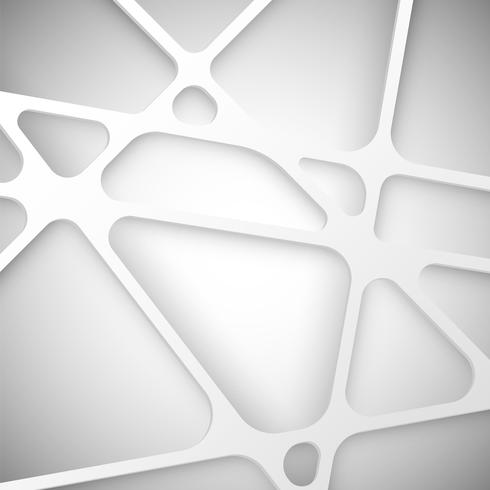 Abstracte achtergrond witte net, vector