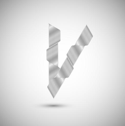 Karakter gemaakt van staal, vector
