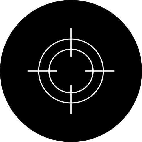 vector doelpictogram