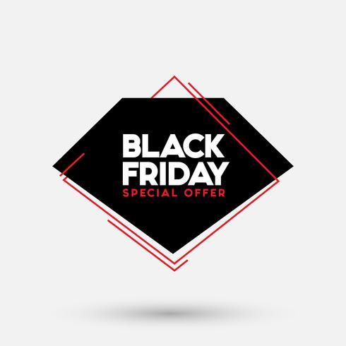 Black Friday verkoop vectorillustratie vector