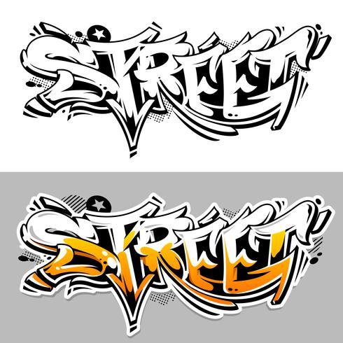 Street Graffiti Vector belettering