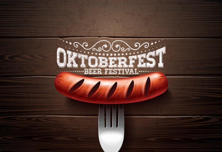 Oktoberfest illustratie vector