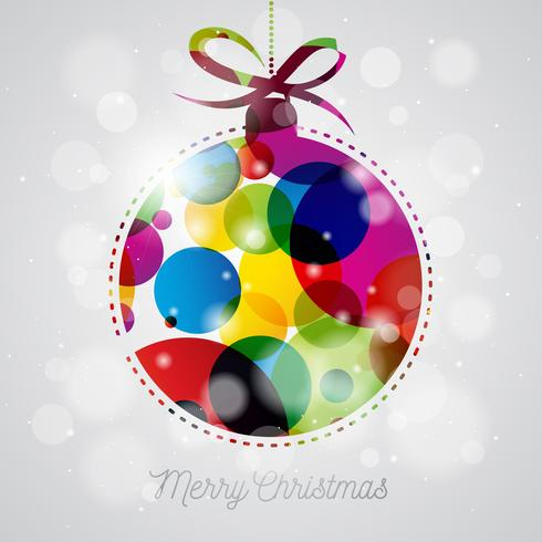 Vrolijk kerstfeest illustratie vector
