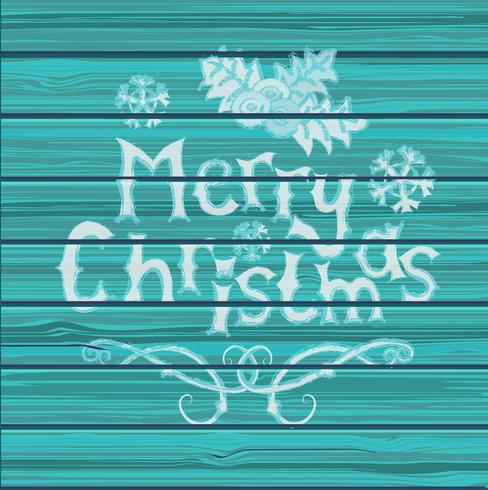 Kerst wenskaart. vector