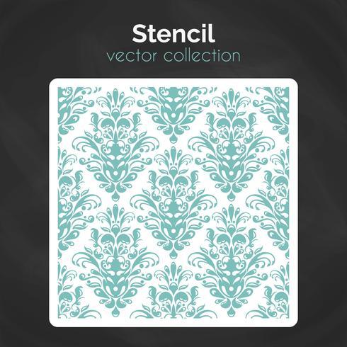 Stencil. Lasersnijmalplaatje. Naadloos patroon voor decoratief paneel. vector