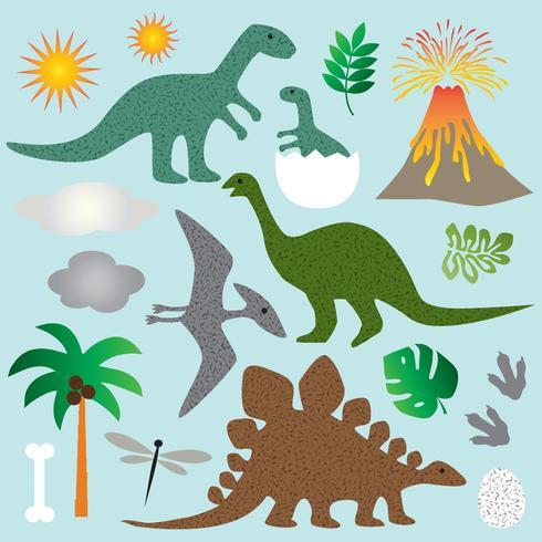 dinosaurus clipart vector