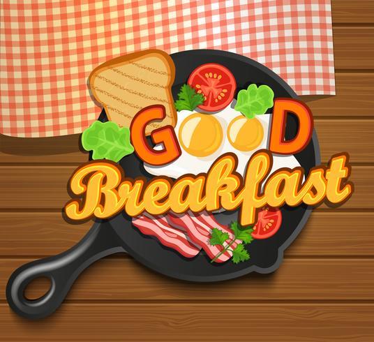 Engels ontbijt vector